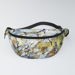 """"""" Wolf Daisies """" Fanny Pack"""