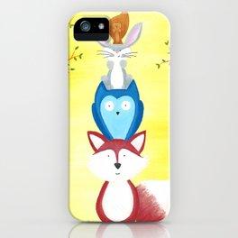 A Furry Friendship iPhone Case
