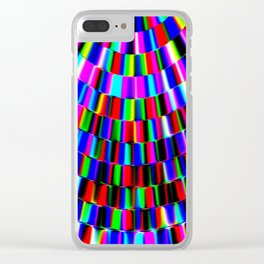 Violet Rays XIII Clear iPhone Case