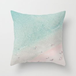 beach - summer of love III Throw Pillow