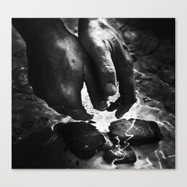 Beneath the Surface. Canvas Print