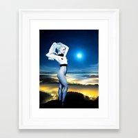 celestial Framed Art Prints featuring Celestial by Danielle Tanimura