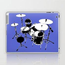 Drumkit Silhouette (backview) Laptop & iPad Skin