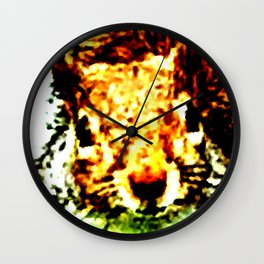The other faces of Squirrel 1 Wall Clock