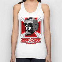 stark Tank Tops featuring Tony Stark by Ant Atomic