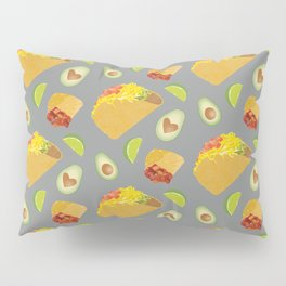 Mexican Food Pattern Pillow Sham