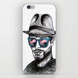 Reflective Rave iPhone Skin