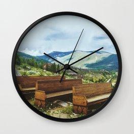 Nature's Church Wall Clock