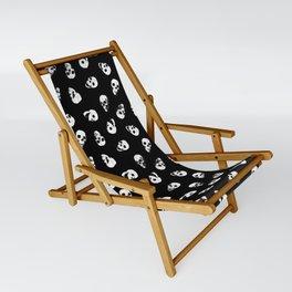 Gossiping Skulls Sling Chair