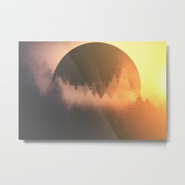 Morning Glory Metal Print