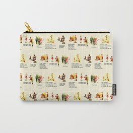Adventures of Dick & Jane Carry-All Pouch