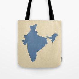 Kashmir Blue Spice Moods India Tote Bag