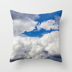 The Clouds  Throw Pillow