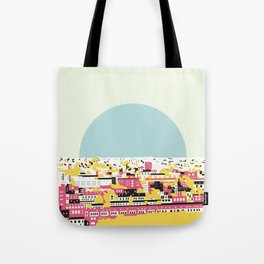 Rooftop view Tote Bag