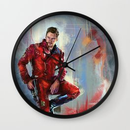 Star-Lord Wall Clock