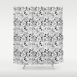 Dalmatian Daze Shower Curtain