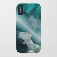 ghost in the shell iPhone & iPod Cases featuring Ghost in the Shell, fan poster by XDimov