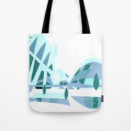 Ciudad de las artes y las ciencias Tote Bag