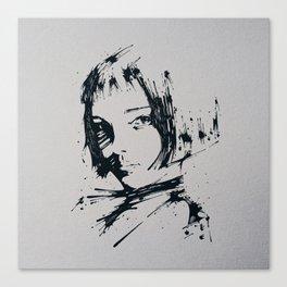 Splaaash Series - Talie Ink Canvas Print