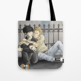 Kitty Hug Tote Bag