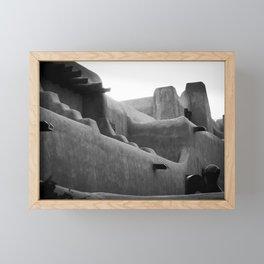 Adobe Lines Framed Mini Art Print