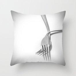 Hand in hand / Tomados de la mano Throw Pillow