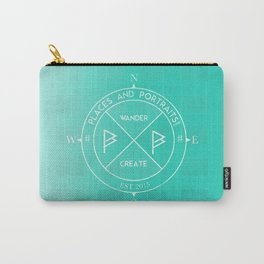 PLACES X PORTRAITS - WANDER X CREATE - WHITE Carry-All Pouch