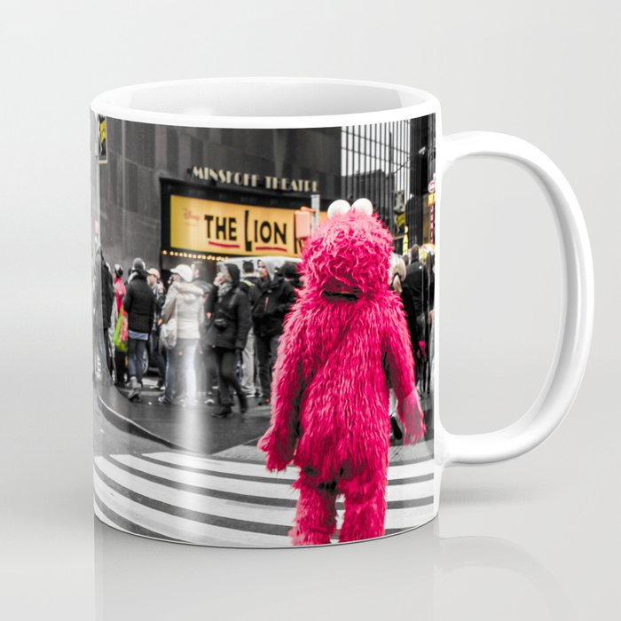 Black and colour New York City ArtWork Street Coffee Mug