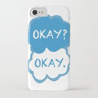 tfios iPhone & iPod Cases featuring TFIOS Dots by All Things M