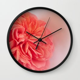 A Touch of Love - Pink Rose #2 #art #society6 Wall Clock