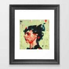 Facing Obstructions 3 Framed Art Print