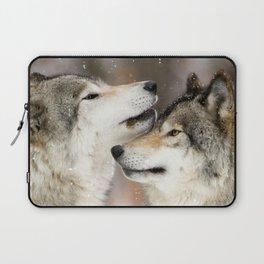 Winter Wolves Laptop Sleeve