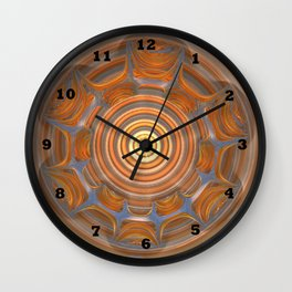 Something in My Other Eye Wall Clock