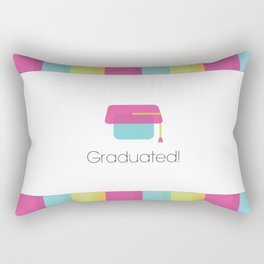 Graduation | school Rectangular Pillow