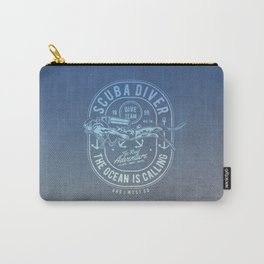 The Ocean Is Calling And I must Go Scuba Diving Carry-All Pouch