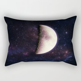 Violet Moon Rectangular Pillow