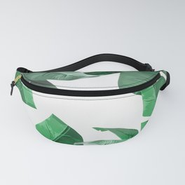 Tropical Palm Print Fanny Pack