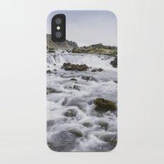 Iceland Waterfall Slim Case iPhone X