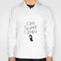 om Hoodies featuring OM by Surya