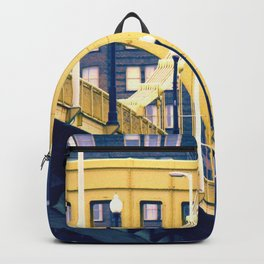 yellow steel > blue steel Backpack