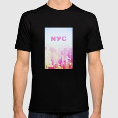 NYC Invaders Mens Fitted Tee Black MEDIUM