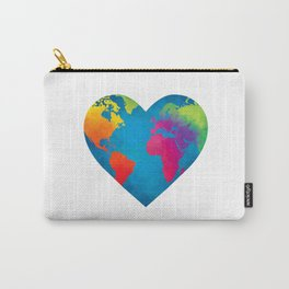 You Color the World Carry-All Pouch