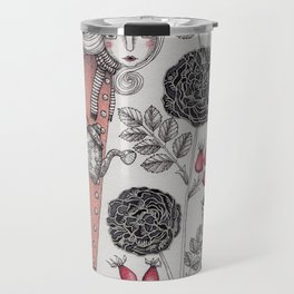 Winter Garden Travel Mug