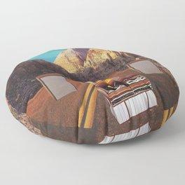 The sound fantasy Floor Pillow