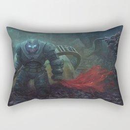 The Black Knight Prevails! Rectangular Pillow