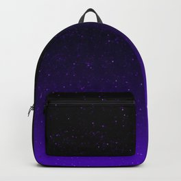 Black/Purple Gradient (with sparkles) Backpack