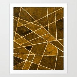Brunei Art Print