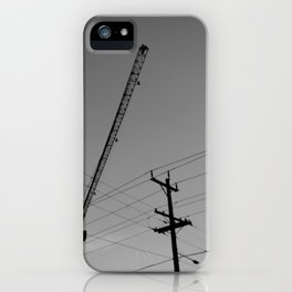 Gentrification Marches On iPhone Case
