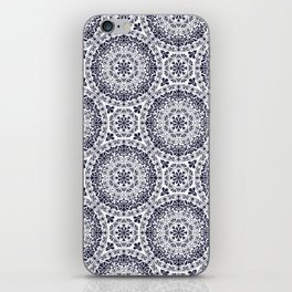 Zara in Blue iPhone Skin