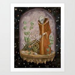 Cosmic Isolation Art Print